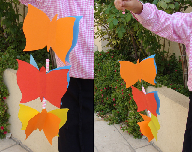 Paper Party Decorations -Butterflies
