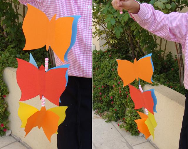 Paper Party Decorations -Butterflies