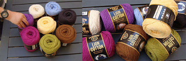 Lion Brand Cotton Yarn