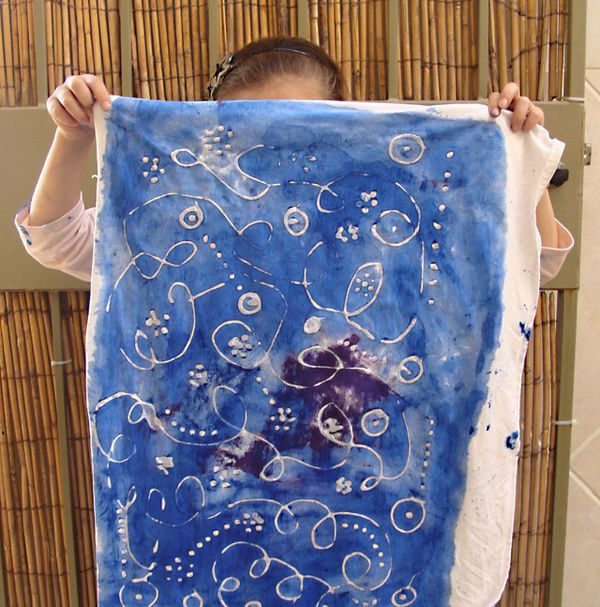 Hanukkah Crafting A Simple Batik Project For Kids With