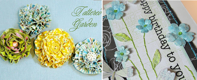 Own Flower Scrapbooking