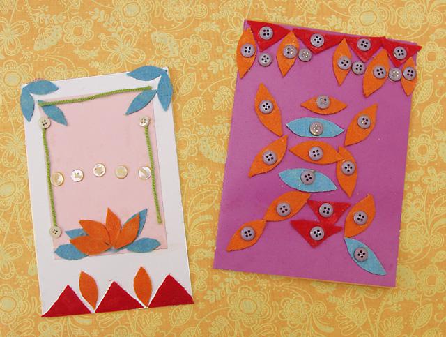 Shavuos Cards Kids versions