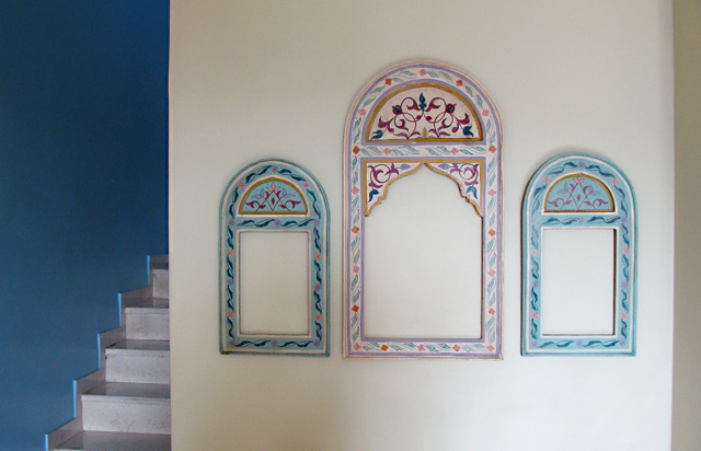 Frames Moroccan Painted Wood