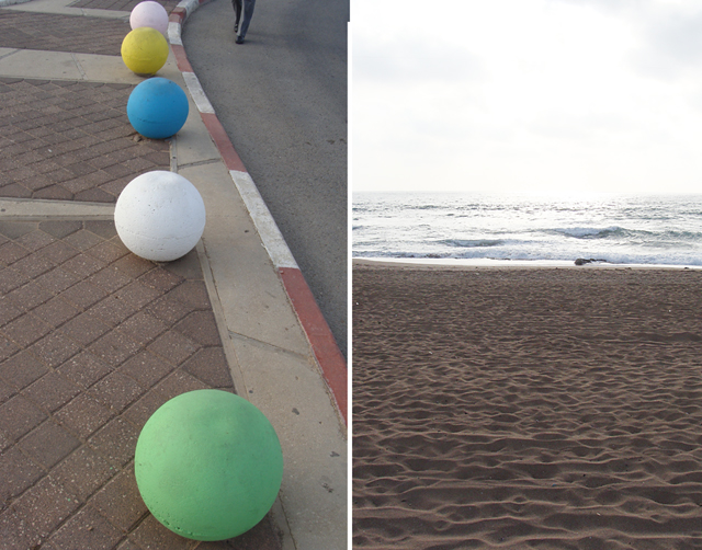 Nahariya Cement Balls +Beach