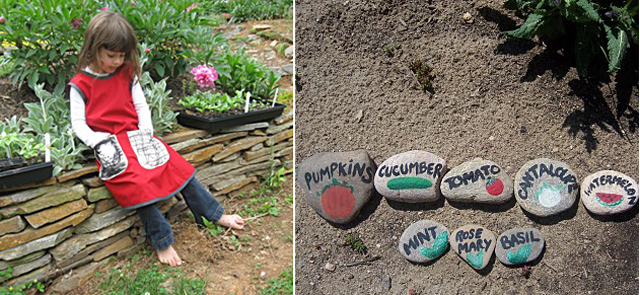 Pinnafore + plant markers