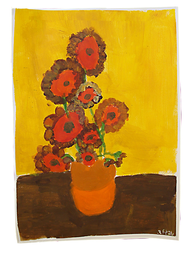 Painting of Flowers AD
