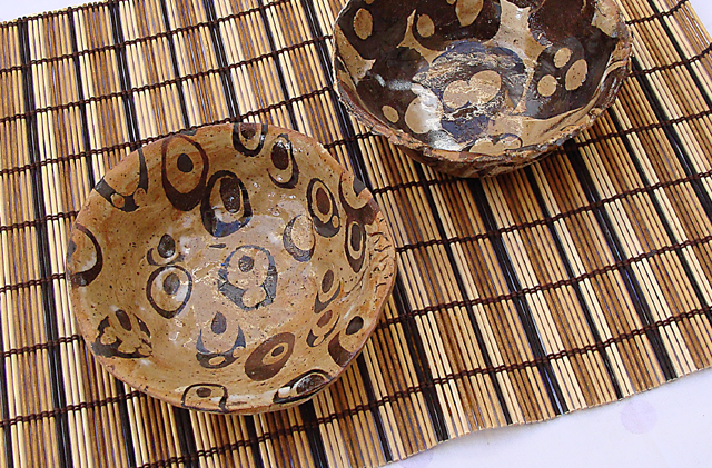 Ceramic Dotted Bowls