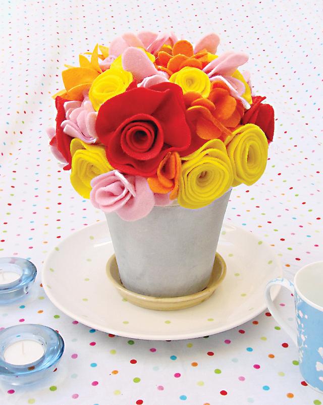 Felt-Flower-Bouquet-Mixed-