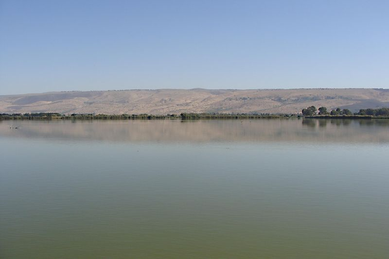 Hula Valley Water