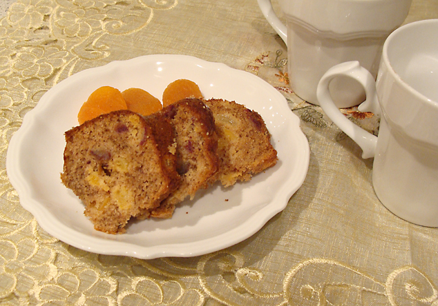 Whole Wheat sugar free fruit cake