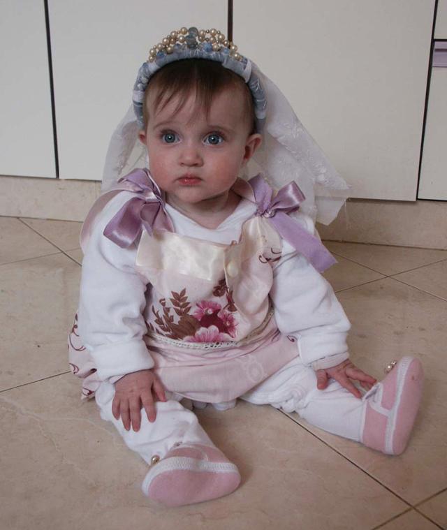 Purim Pillow Case Dress