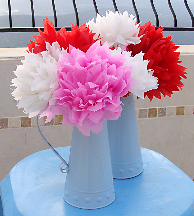 Mexican Style Crepe Paper Flowers Gorgeous Creative Jewish Mom