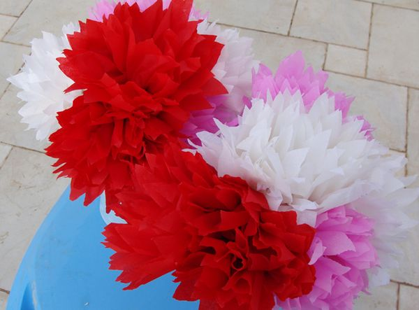 Mexican Style Crepe Paper Flowers Gorgeous Creative