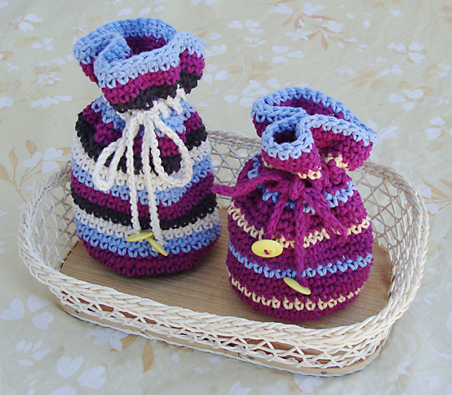 Free Crochet Patterns For Christmas Gift Bags : La matassa e il gomitolo: Small useful gift crochet ...