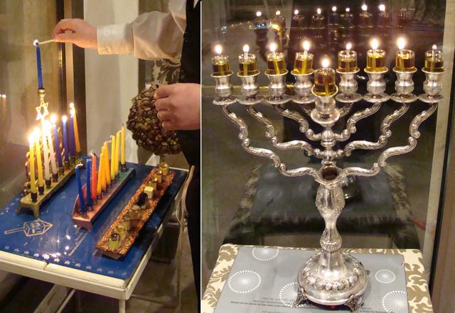Hanukkah Menorahs 8th Night