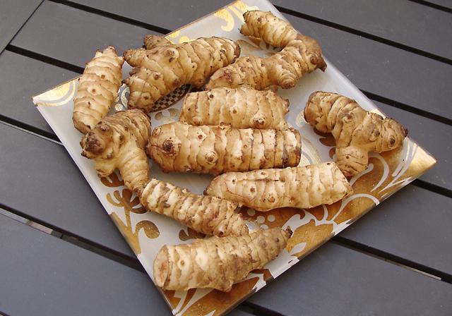 Moroccan Potato Jerusalem Artichoke