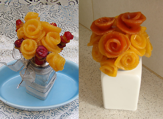 Fruit Roll Roses Edible Bouquet