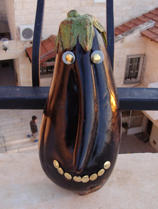 Eggplant Man Craft