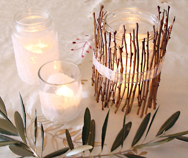Tu B'Shevat Twig Luminaries