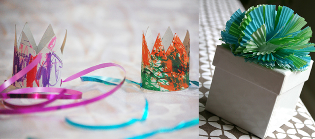 Tp tube crowns, cupcake wrapper topper