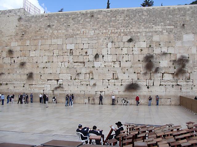 Jerusalem, the kotel wailing wall