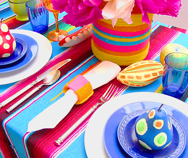 Mexican Fiesta Table Setting  sc 1 st  Creative Jewish Mom & Setting The Table For A Mexican-Style Fiesta \u2014For Purim or Anytime ...