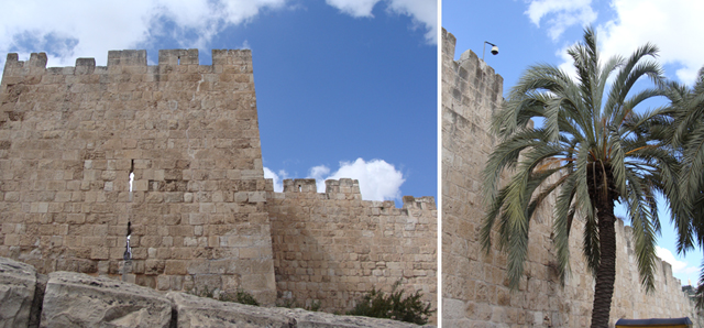 Jerusalem The Wall Of the Old City