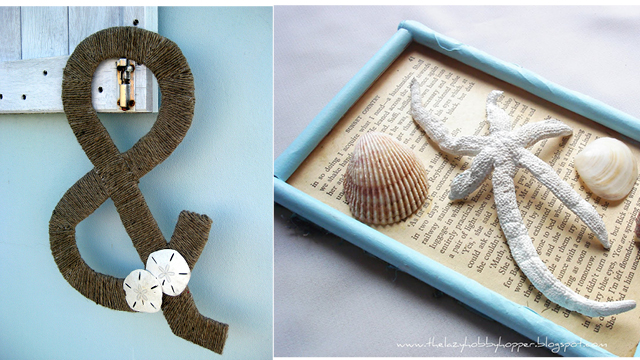 Jute ampersand,shell picture