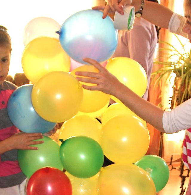 Birthday Party Balloon Game