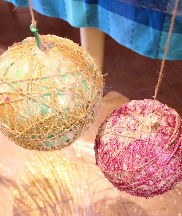 String Ball In Progress