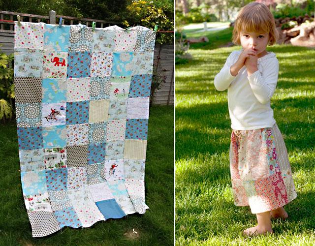 Kath Kidston patchwork,patchwork culottes