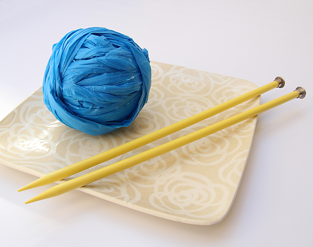 Plastic Bag Yarn Plarn How To
