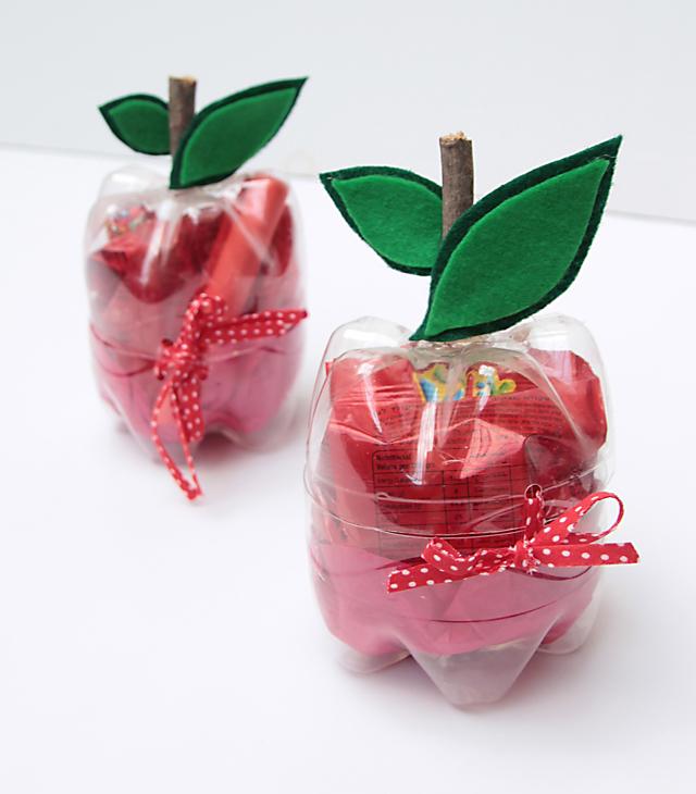Plastic Bottle Apples 2