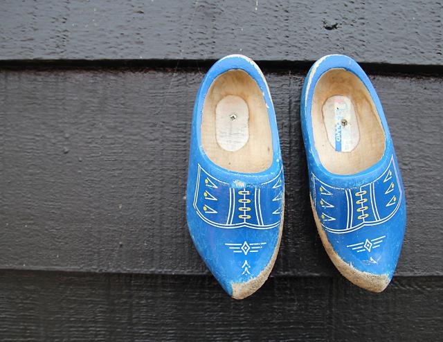 Dutch cuteness wooden shoes