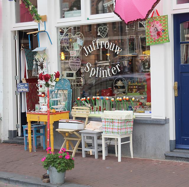 Dutch cute store in Amsterdam