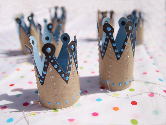 Toilet Paper Roll Birthday Crowns Creative Jewish Mom