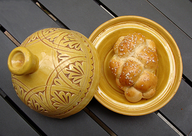 Challah Baking Braided Roll