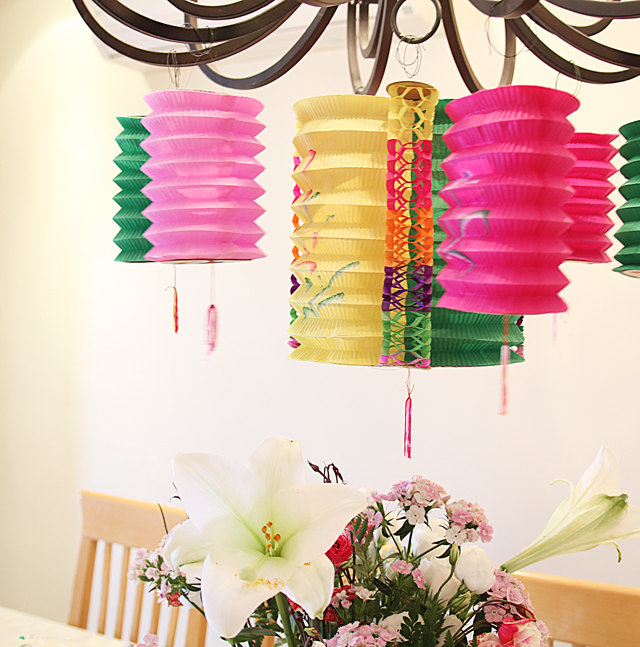 I love Chinese paper lanterns and they 39re every hostess 39s dream solution to