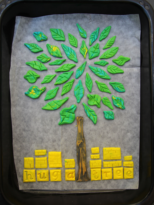 Polymer Clay Tree
