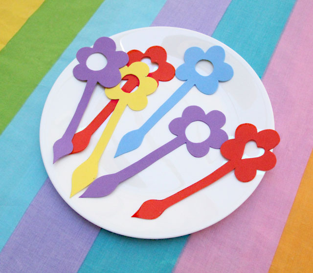 Drink Markers From Craft Foam
