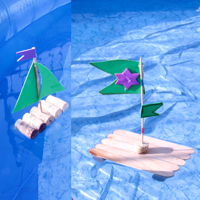 Wine cork boats and rafts2