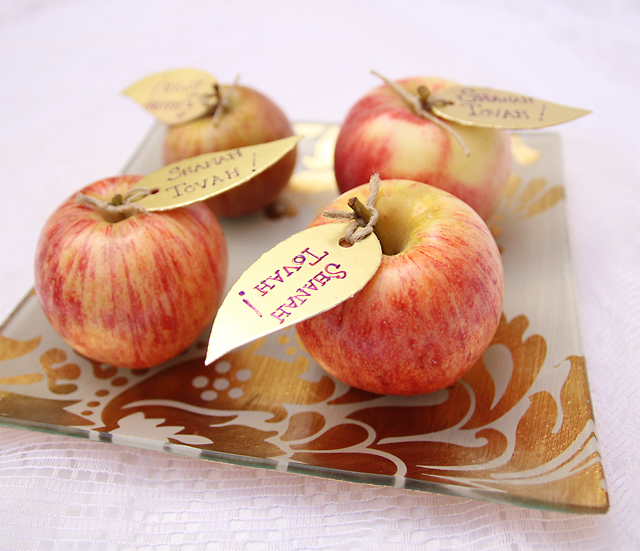 Rosh HaShana Table Decor