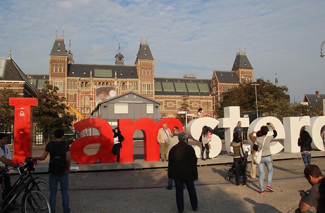 Amsterdam I amsterdam sculpture