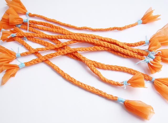 Braids orange