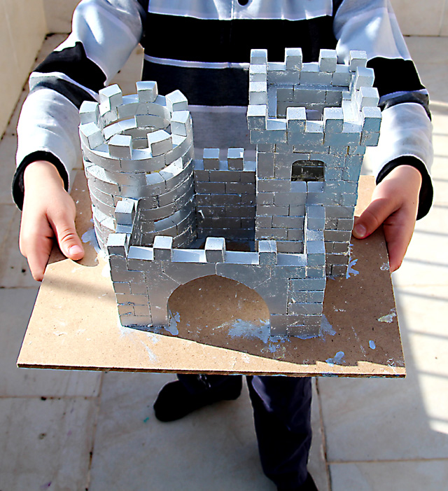 Castle Model First For Child