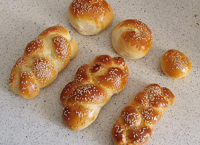 Challah Baking With Kids