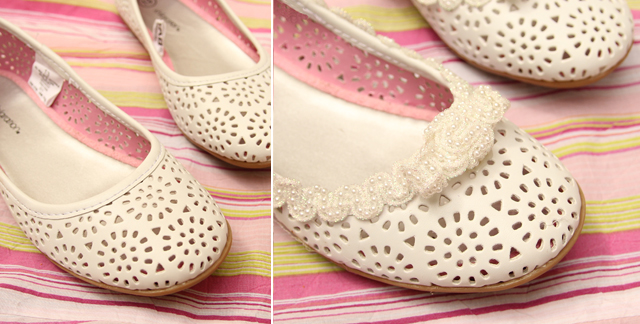 Wedding Shoes Before and After