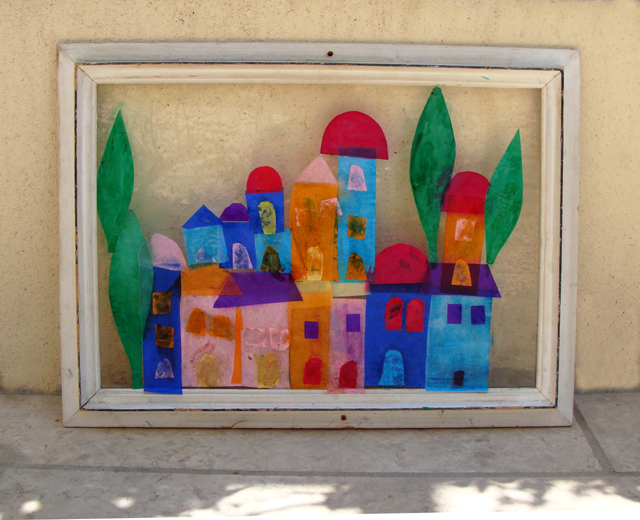 Kid S Crafts For Remembering Jerusalem Creative Jewish Mom