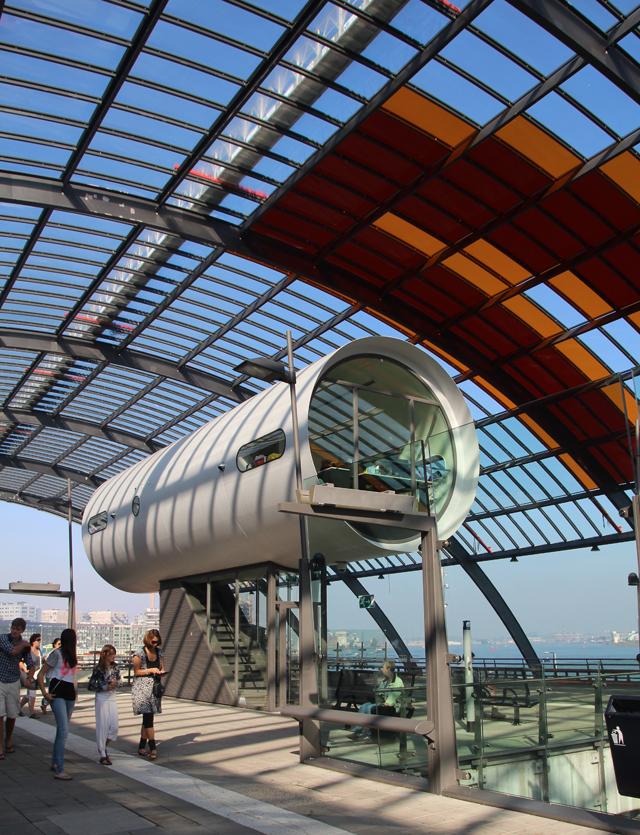 Amsterdam modern bus station
