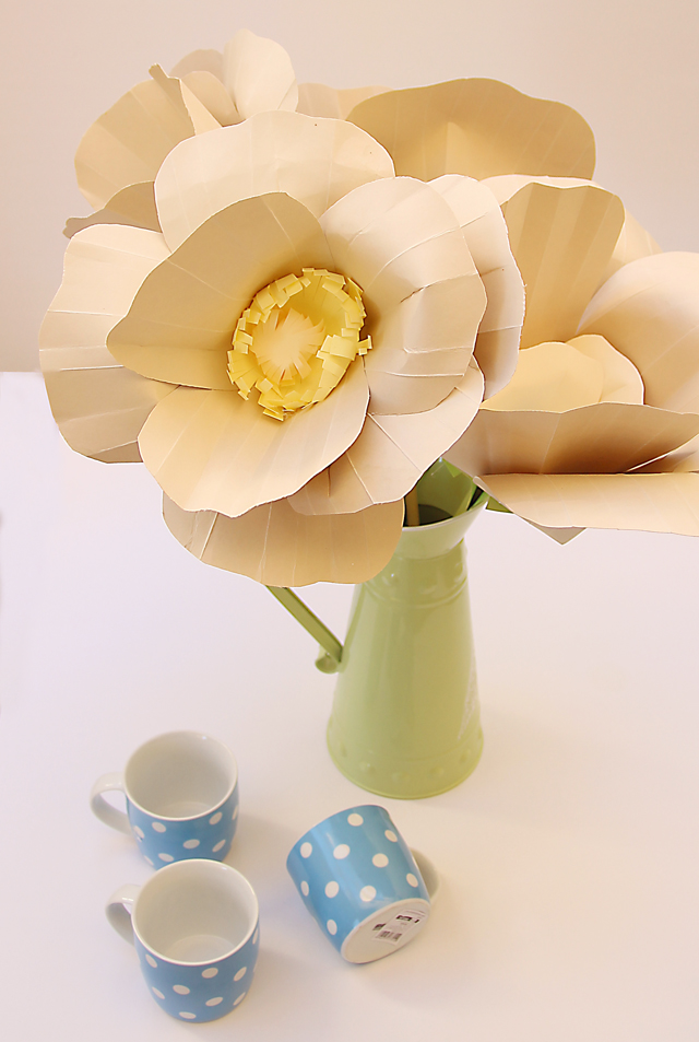 Giant Paper flowers for fall